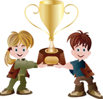 1kids-holding-trophy-vector-592528